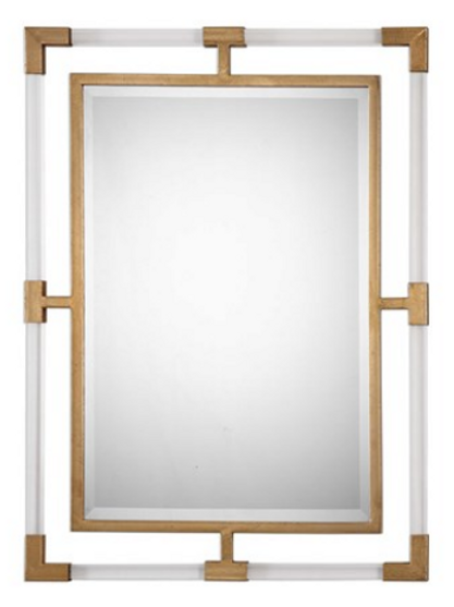 Gold & Acrylic Mirror