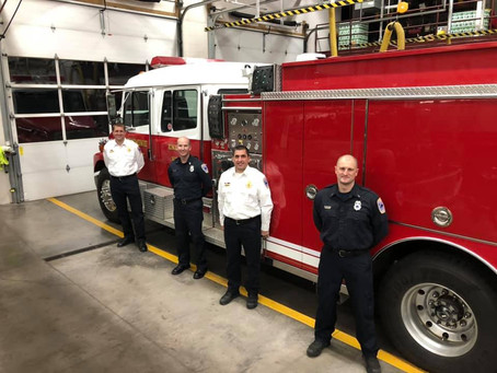 Fire Department Promotions