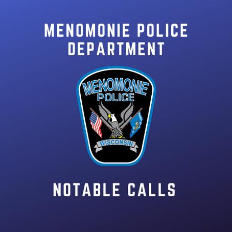 MPD Notable Calls - Week of 5/31