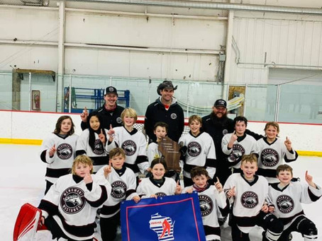 Squirt A- State Hockey Champions