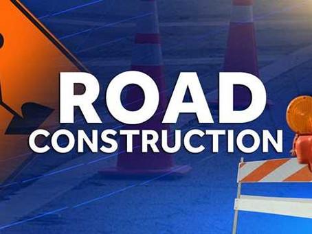 Road Construction on 21st Street