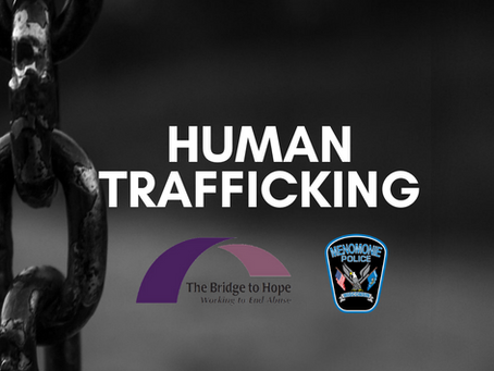 Human Trafficking Video Series from  The Bridge to Hope and the Menomonie Police Department