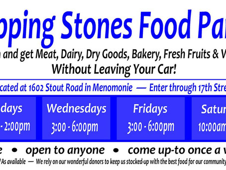 Food Pantry Now Open Four Days per Week