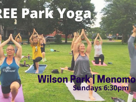Free Park Yoga Offered by Happy Apple Yoga