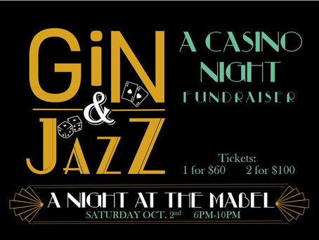 Casino Night Fundraiser at the Mabel Tainter