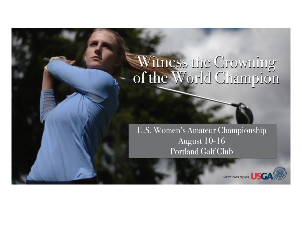 U.S. Women's Amateur Outdoor