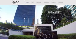 200 Market Building Website