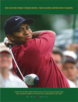 Nike Tiger Woods Ad