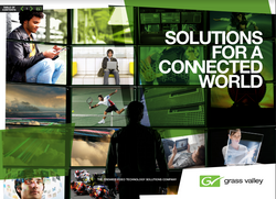 Corporate brochure for Grass Valley.