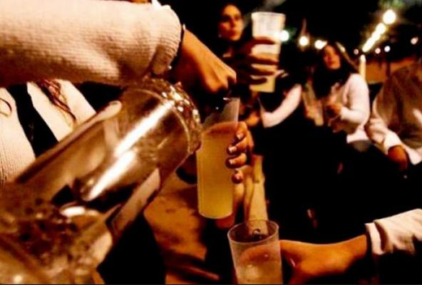 La alcoholización de nuestra juventud