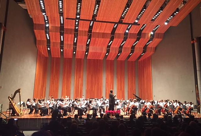 Orchestra Concert on Catalina Foothills Concert Hall