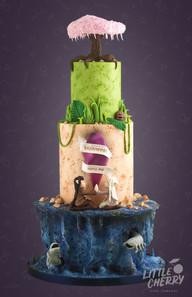Dark Crystal Dreamfast Wedding Cake