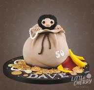 Niffler Cake Fantastic Beasts Cake