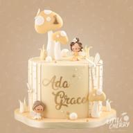Peach Fairy Cake