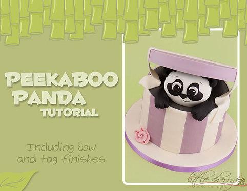 Peekaboo Panda Tutorial