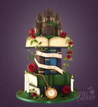 Castle Fairytale Labyrinth Book Wedding