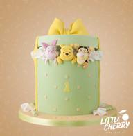 Winnie the Pooh Present Cake