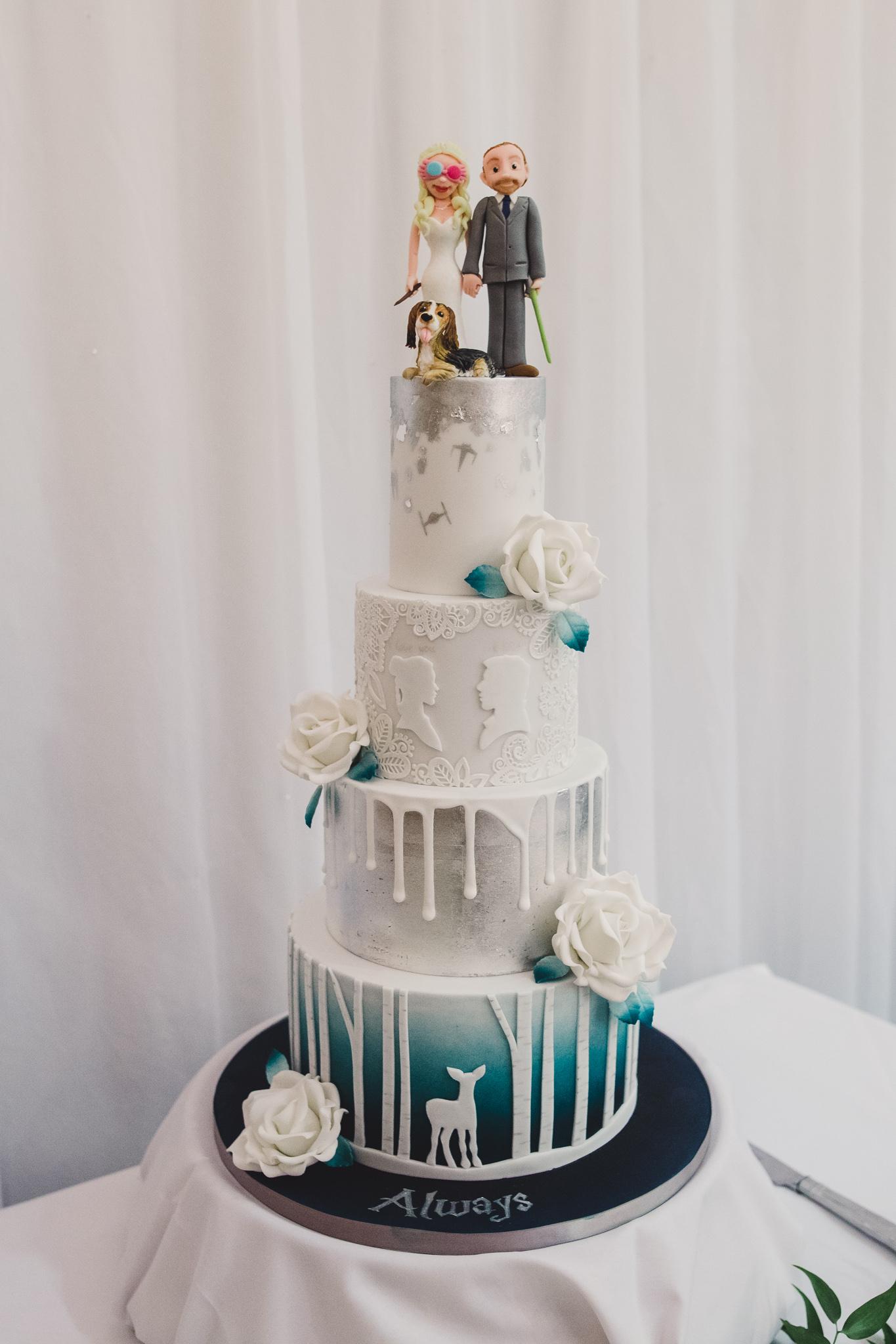 Harry Potter Wedding Cake.Little Cherry Cake Company You