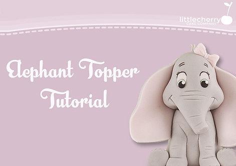 Elephant Topper Tutorial