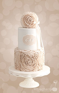 Little Cherry Cake Company Wedding Cakes - Sphere Wedding Cake