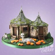 Hagrids Hut Harry Potter Cake