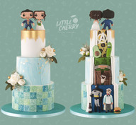 Victoria Baths Hidden Back Wedding Cake