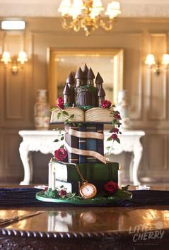 Fairytale Book Wedding Cake
