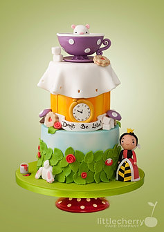 ... Alice In Wonderland Baby Shower Cake ...