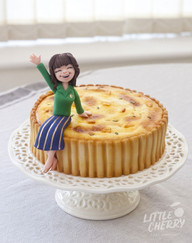 Quiche Lorraine Kelly Cake