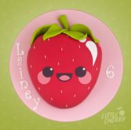 KawaiiStrawberry Cake