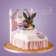 Bedtime Story Cake Cowbelle and Bing