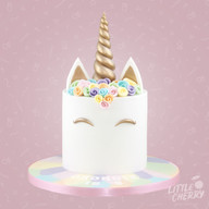 PastelUnicorn Cake