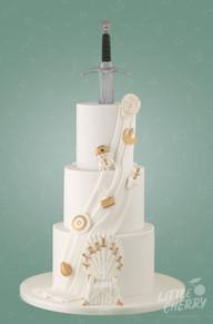 Star Wars Avengers GOT Wedding Cake