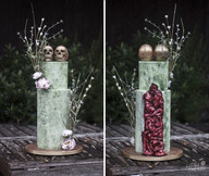Zombie Guts Wedding Cake