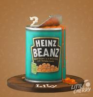 Heinz Beans Cake