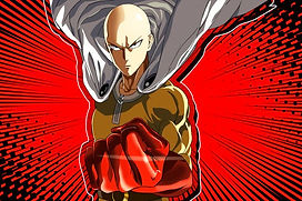 Tim Friedlander voices Hellfire Flame in the English dub of One Punch Man