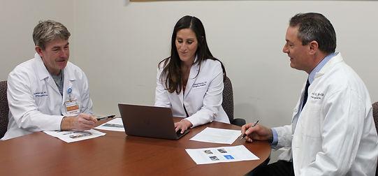 Brown Emergency Medicine TeleCare physicians providing urgent telemedicine.