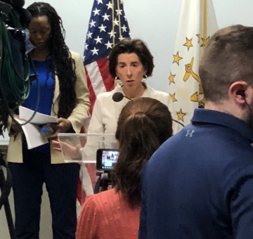 "RI's ""Real"" Infection Rate Is Approximately 6%, Raimondo's Testing Strategy Comes Under Criticism"