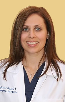 Dr. Ruest a Brown Emergency Medicine TeleCare physicians providing pediatric urgent telemedicine.