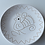 Thumbnail: 皿16㎝・サルデーニャ島陶器Ceramica Sarda (ホワイト) セラミック装飾皿