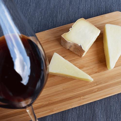 「Aperitivo セット」3タイプのチーズセット&1本カンノナウ ディ サルデーニャ DOC