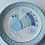 Thumbnail: 皿16㎝・サルデーニャ島陶器Ceramica Sarda (水色)セラミック装飾皿