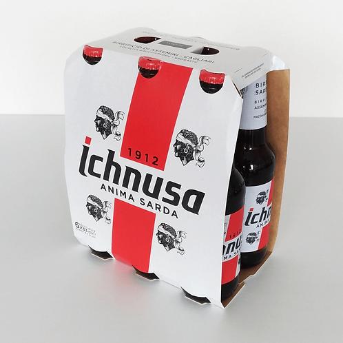 ビッラ イクヌーザ Birra Ichnusa 330ml x 6本セット (ビール)