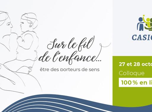 Colloque 2020 de CASIOPE:           Une édition 100 % en ligne!