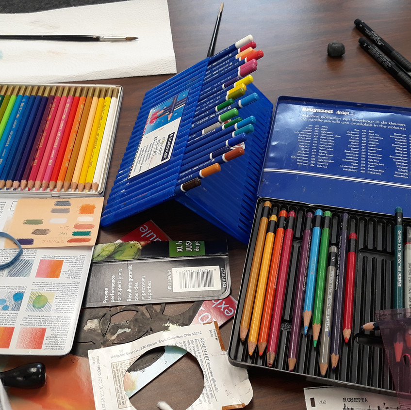 Art Supplies sooth your soul!