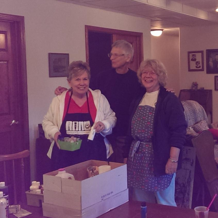 Jan R., Helen, and Karen P.