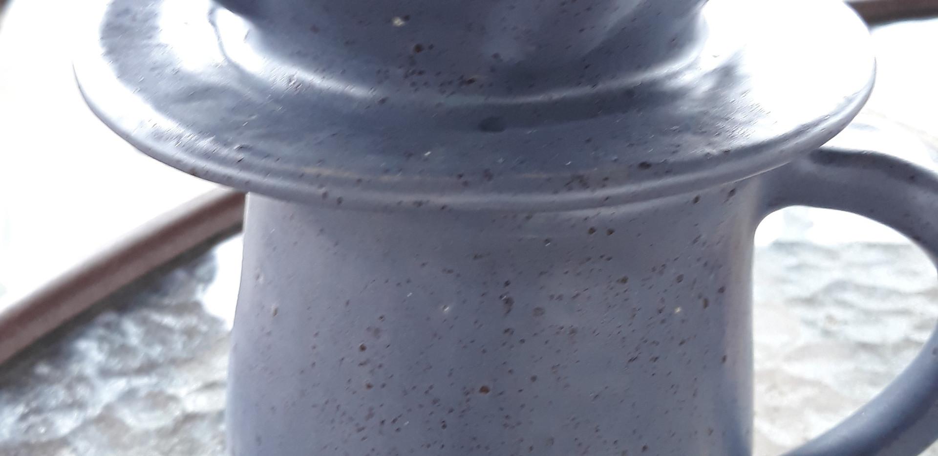 Early Bird - Ceramic mug, coaster, and coffee pour over