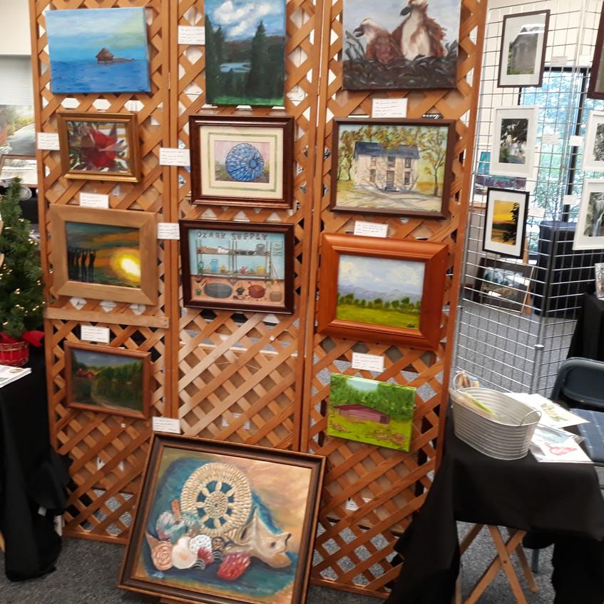 Laverne Hetzel's display