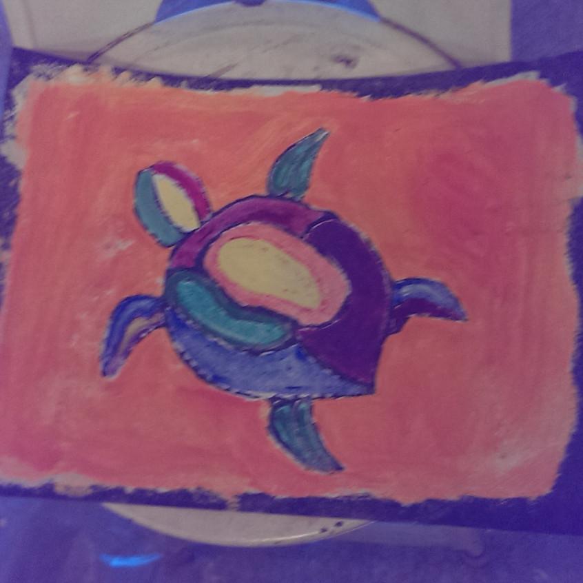 2nd day sea turtle - Karen
