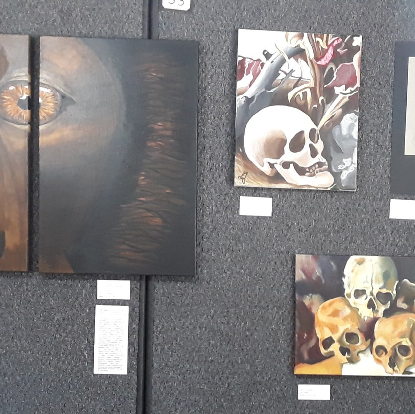 Paintings and drawings by finalists